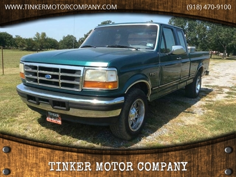 1996 Ford F-150 for sale in Indianola, OK