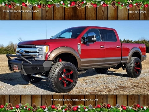 Trucks For Sale In Okc >> 2017 Ford F 250 Super Duty For Sale In Indianola Ok