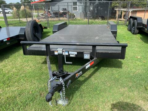 """2020 HD Trailer 83""""x18' 3500lb Axles Carhauler for sale at TINKER MOTOR COMPANY in Indianola OK"""