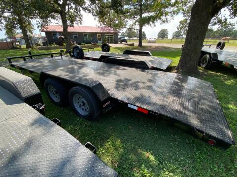 """2020 HD Trailer 83""""x20' 3500lb Axles Carhauler for sale at TINKER MOTOR COMPANY in Indianola OK"""