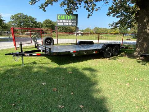 """2020 HD Trailer 83""""x22' 5200lb Axles Carhauler for sale at TINKER MOTOR COMPANY in Indianola OK"""