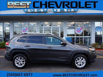 2017 Jeep Cherokee for sale in Kenner, LA
