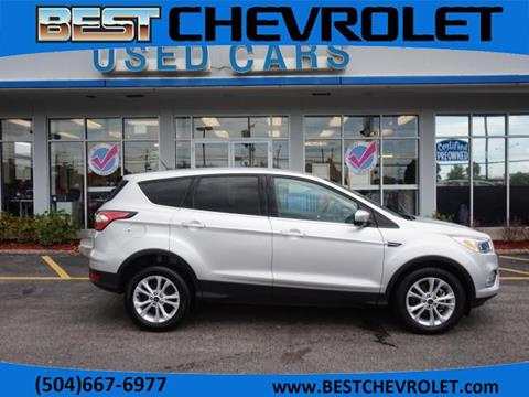 2017 Ford Escape for sale in Kenner, LA