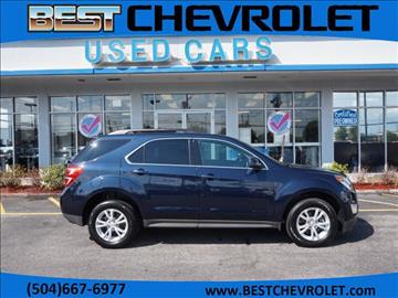 2017 Chevrolet Equinox for sale in Kenner, LA