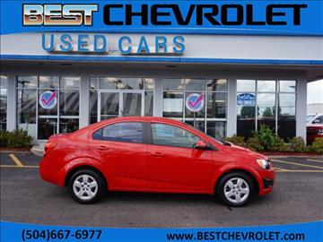 2013 Chevrolet Sonic for sale in Kenner, LA