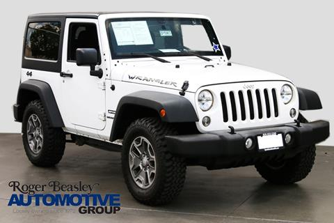 2015 Jeep Wrangler for sale in New Braunfels TX