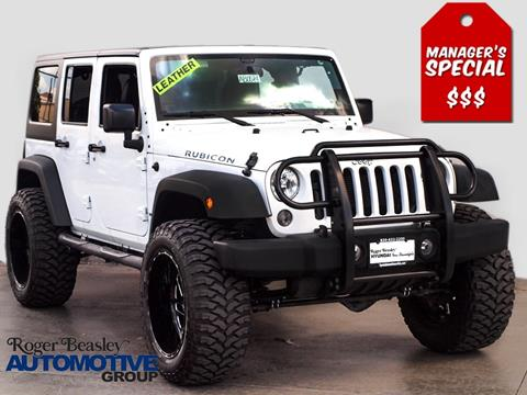 2014 Jeep Wrangler Unlimited for sale in New Braunfels TX