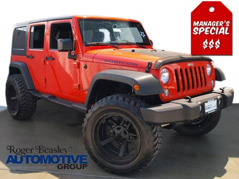 2015 Jeep Wrangler Unlimited for sale in New Braunfels TX