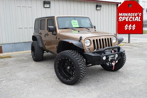 2015 Jeep Wrangler Unlimited for sale in New Braunfels, TX