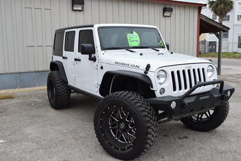 2016 Jeep Wrangler Unlimited for sale in New Braunfels TX