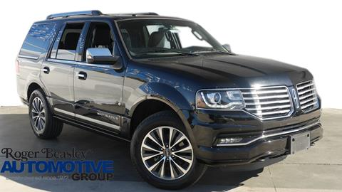 2017 Lincoln Navigator for sale in New Braunfels TX