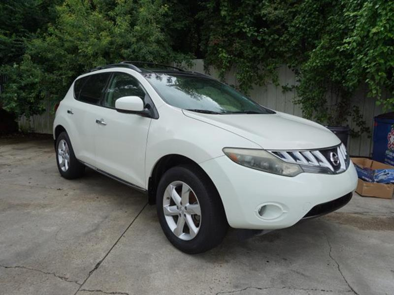 2009 NISSAN MURANO SL 2WD glacier pearl stability controltrip computerfront tow hooksleather s