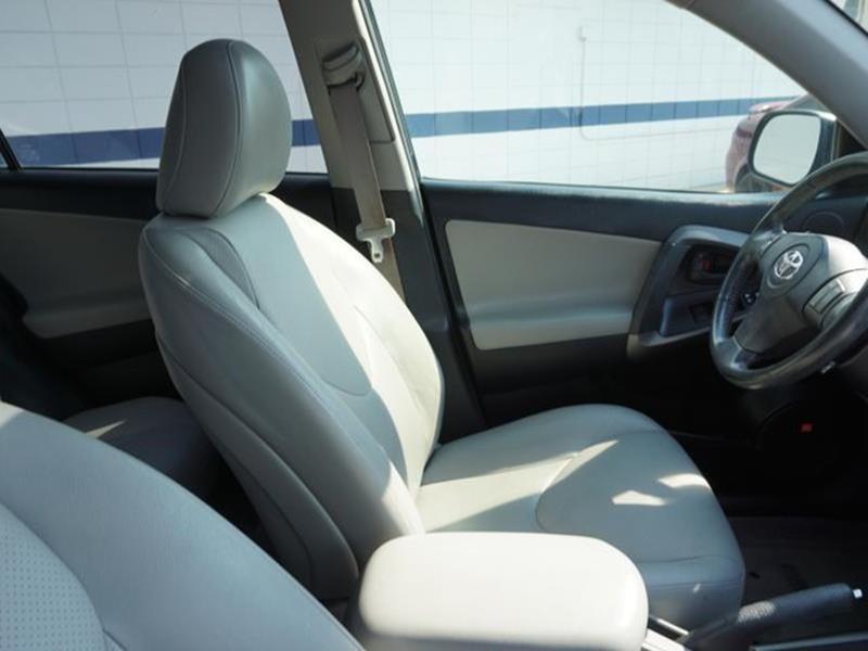 2010 TOYOTA RAV4 LIMITED 4DR SUV black leather seatsfront side air bagmulti-zone acacamfm