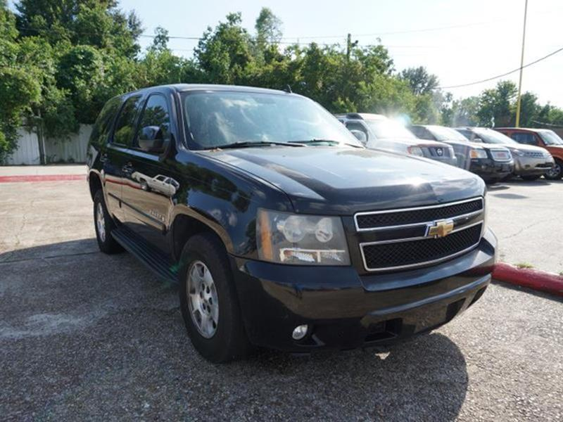 2007 CHEVROLET TAHOE LT 4WD black climate controlpower passenger seatheated driver seatheated