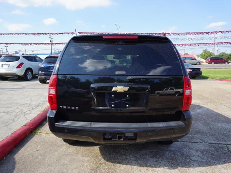 2007 CHEVROLET TAHOE LT 4WD black climate controlpower passenger seatheated driver seatheated