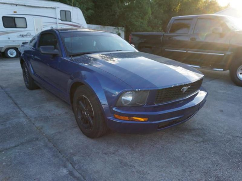 2007 FORD MUSTANG PREMIUM vista blue metallic auxiliary pwr outletmp3 playerpower windowstires