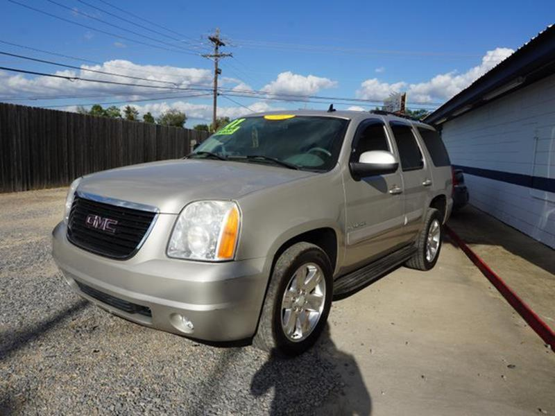 2007 GMC YUKON 1500 SLT 2WD gold mist metallic 3rd row seattow hitchtires - front all-seasonti