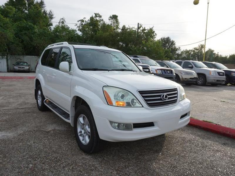 2007 LEXUS GX 470 BASE 4DR SUV 4WD blizzard pearl leather steering wheelvehicle anti-theft syste