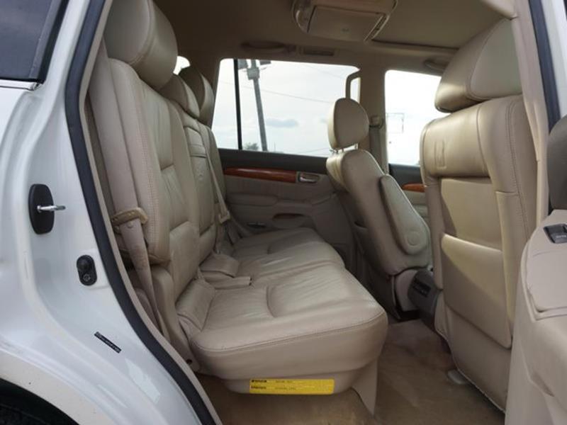 2007 LEXUS GX 470 BASE 4DR SUV 4WD blizzard pearl bucket seatsrunning boardsside stepspower ti