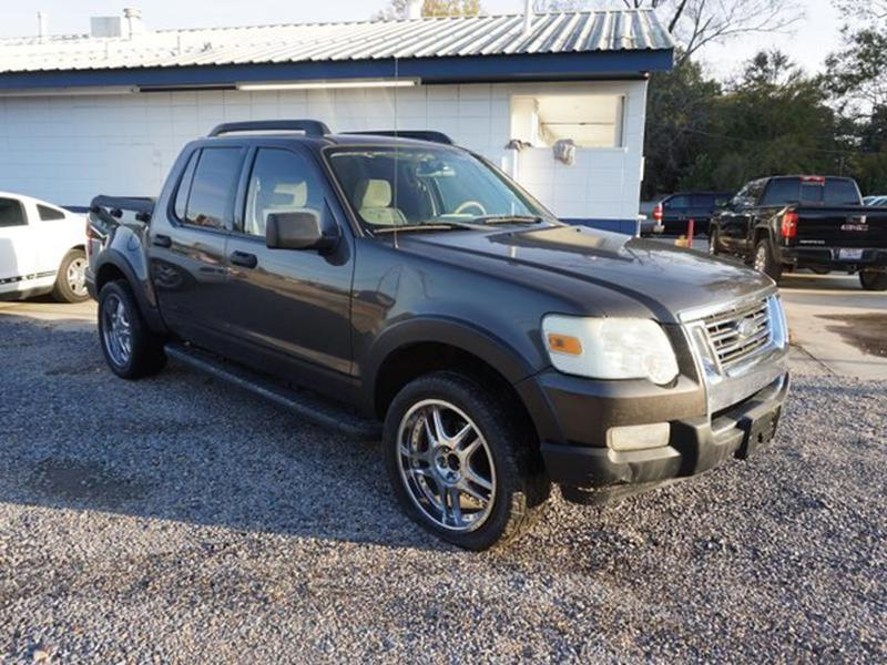 2007 FORD EXPLORER SPORT TRAC XLT 4DR CREW CAB V6 black power driver mirrorpower door lockstire