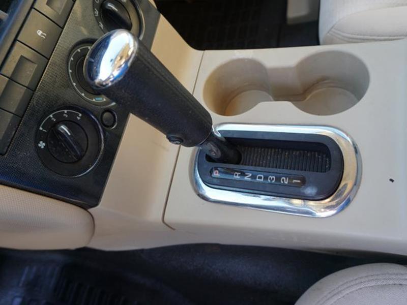 2007 FORD EXPLORER SPORT TRAC XLT 4DR CREW CAB V6 black auxiliary audio inputpassenger illuminat