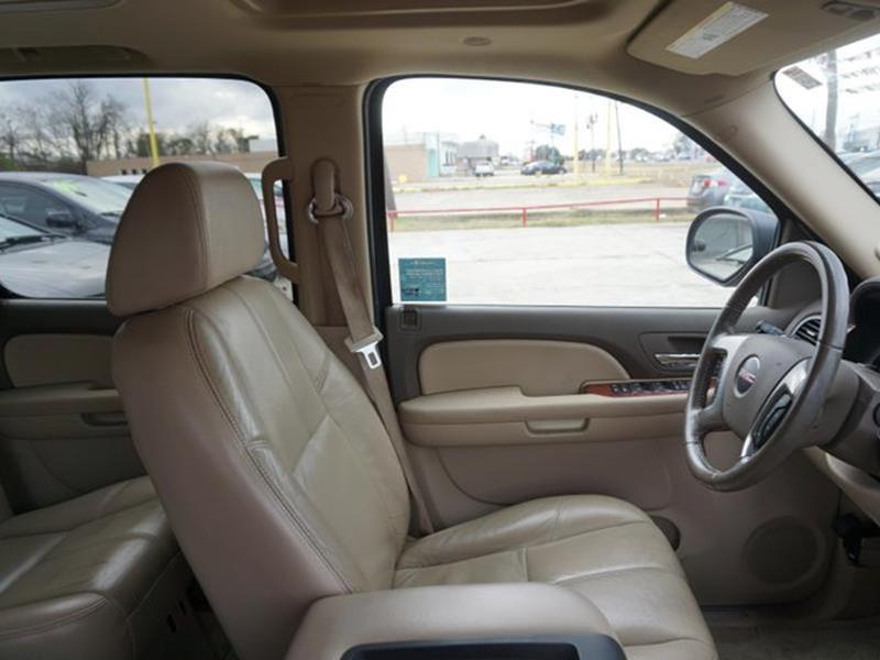 2007 GMC YUKON XL 1500 SLT 2WD antique bronze metallic passenger air bag sensorrear bench seats