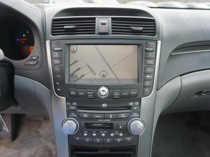2005 ACURA TL AT NAVIGATION SYSTEM gray intermittent wiperstraction controladjustable steering