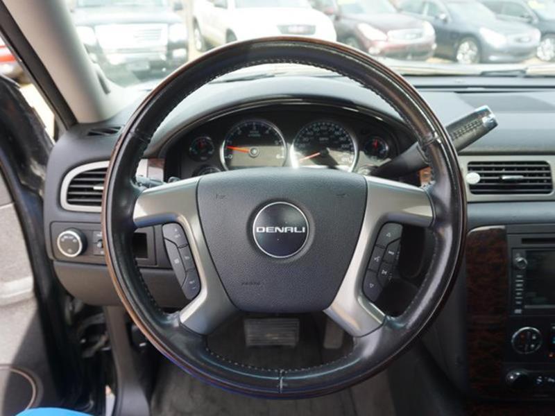 2008 GMC YUKON XL DENALI AWD 4DR SUV onyx black conventional spare tiretires - rear all-seasonp