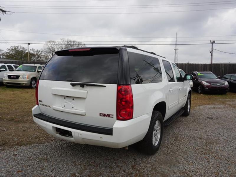 2009 GMC YUKON XL 1500 SLT W4SA 2WD white power tiltsliding sunroofheated driver seatheated p