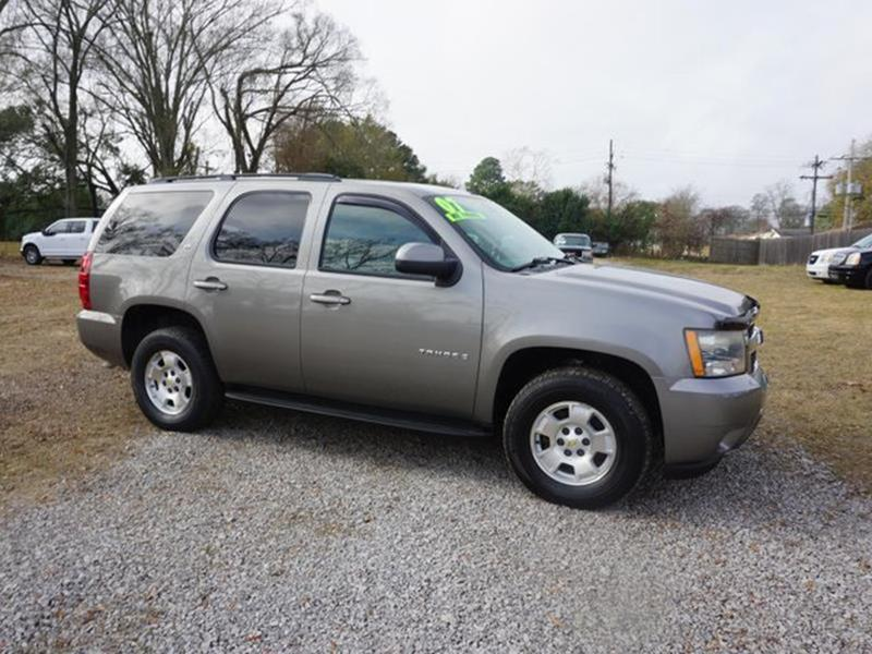 2007 CHEVROLET TAHOE LT 2WD gray rear bench seatcargo shadestability controltransmission overd