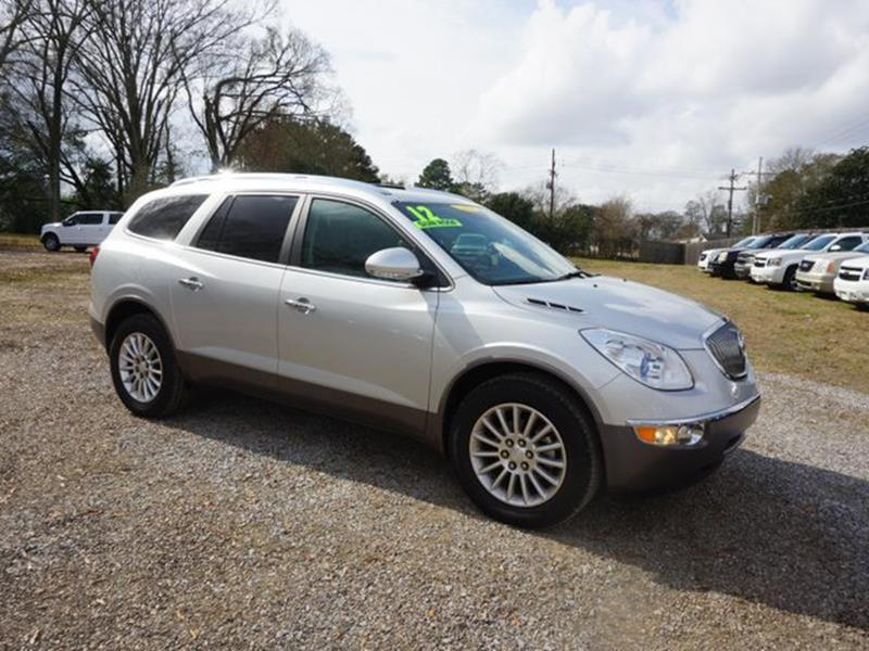 2012 BUICK ENCLAVE LEATHER 4DR SUV quicksilver metallic leather seatsdaytime running lights4-wh