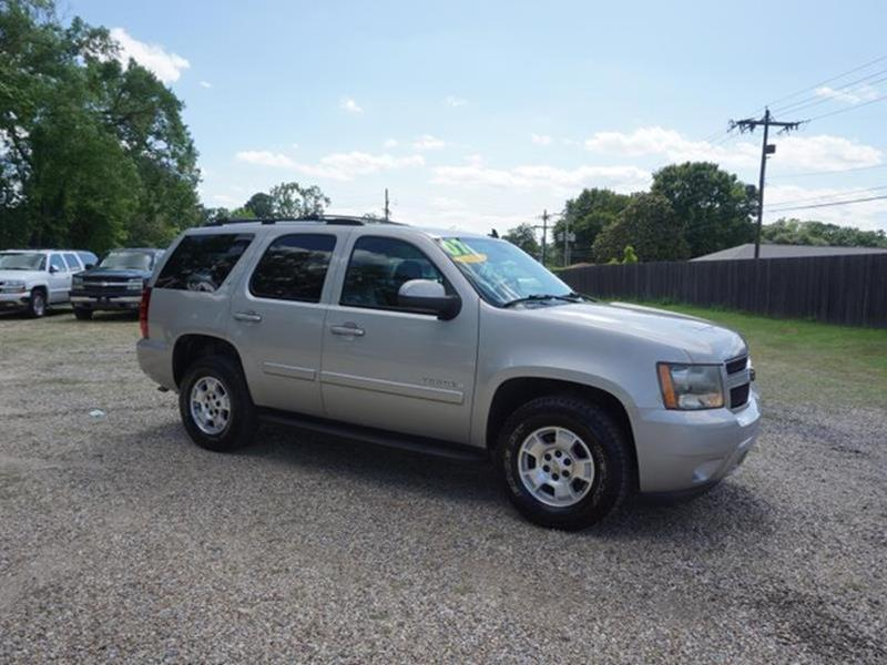 2007 CHEVROLET TAHOE LT 2WD gold mist metallic passenger air bag sensorrear bench seattelematic
