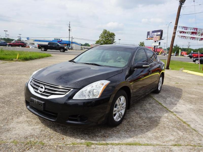 2011 NISSAN ALTIMA 25 SL 4DR SEDAN super black passenger air bag sensorauxiliary audio inputtr