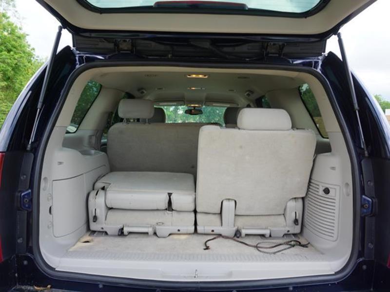 2007 CHEVROLET TAHOE LS 4WD dark blue metallic passenger illuminated visor mirrordriver illumina
