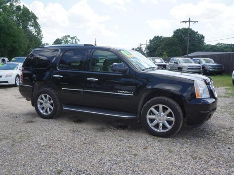 2008 GMC YUKON DENALI AWD 4DR SUV onyx black passenger air bag sensorremote engine starttelemat
