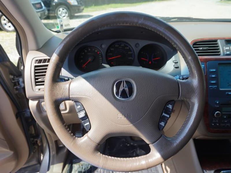 2004 ACURA MDX TOURING AWD 4DR SUV sandstone metallic leather steering wheelseat memorymirror m