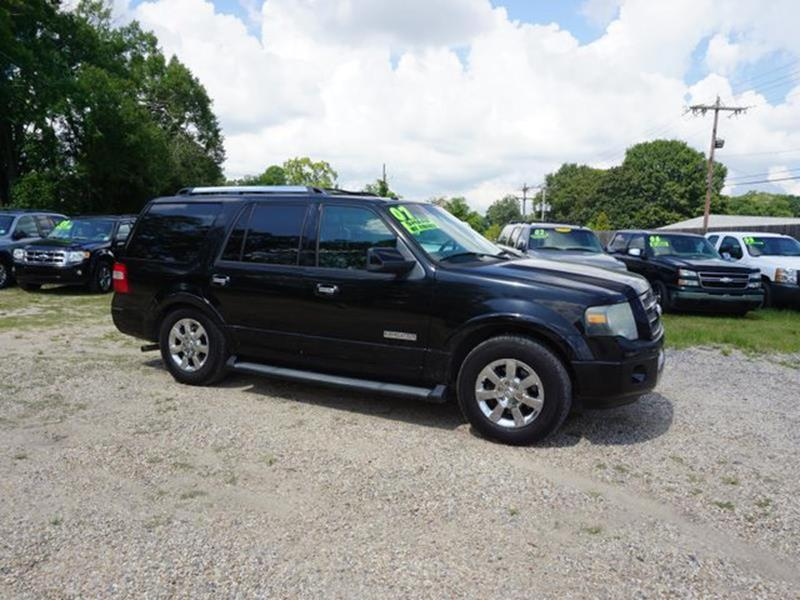 2007 FORD EXPEDITION LIMITED 4X2 4DR SUV black power tiltsliding sunroofrear parking aidfront