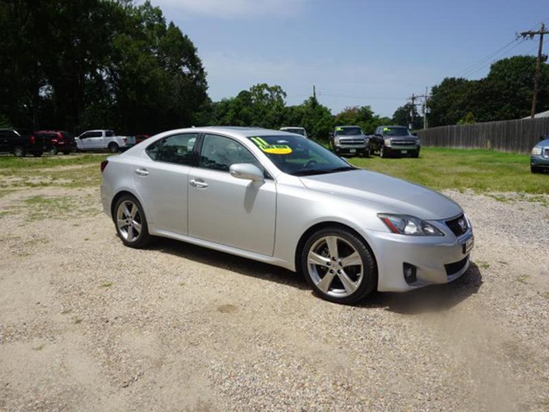 2011 LEXUS IS 250 BASE 4DR SEDAN 6A silver brake assiststability controlremote trunk releasere