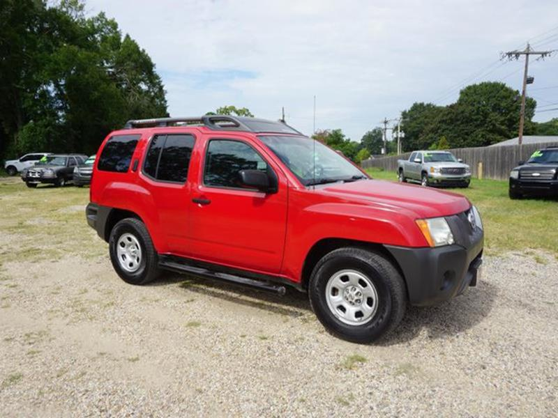 2008 NISSAN XTERRA SE 2WD red power driver mirrorkeyless entryrear wheel driverear defrost4-w