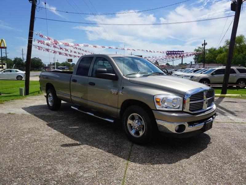 2008 DODGE RAM PICKUP 2500 2500 SLT 2WD 140WB brown auxiliary audio inputheated exterior passeng