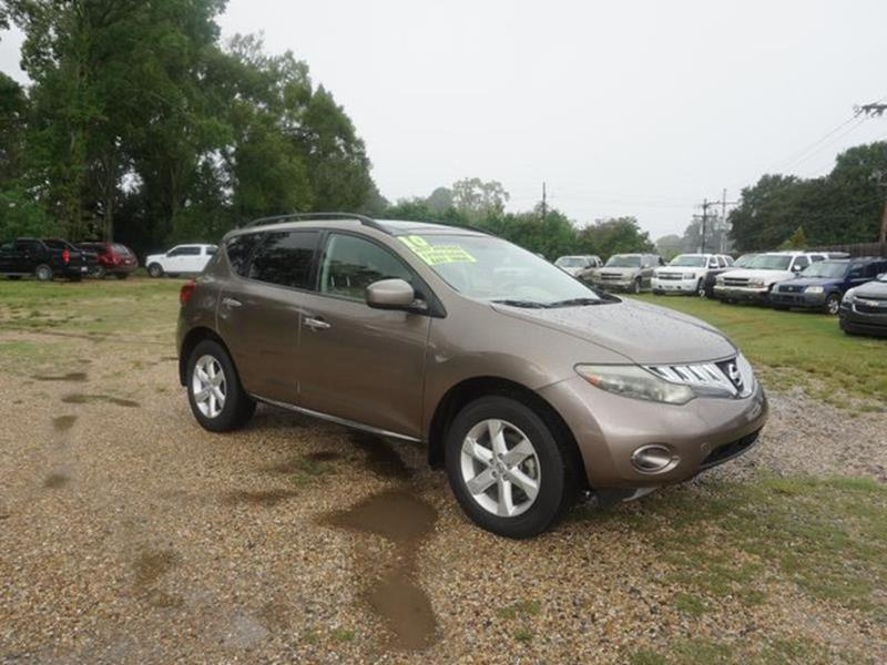 2010 NISSAN MURANO SL 2WD sahara stone stability controlleather steering wheeldriver adjustable