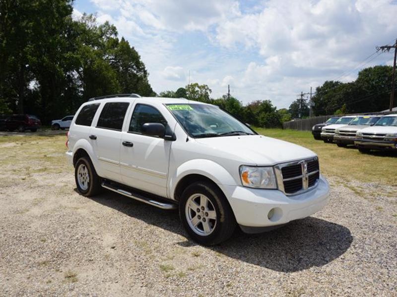 2009 DODGE DURANGO SLT 4X2 4DR SUV bright white universal garage door openerrear seat heat ducts