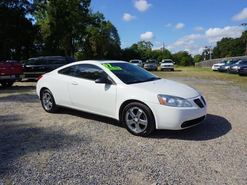 2007 PONTIAC G6 GT 2DR COUPE ivory white heated passenger seatrear head air bagamfm stereofro