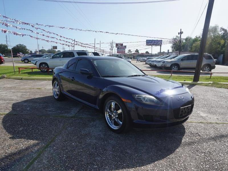 2008 MAZDA RX-8 TOURING 4DR COUPE 6A blue cloth seatspower tiltsliding sunroofpower door locks