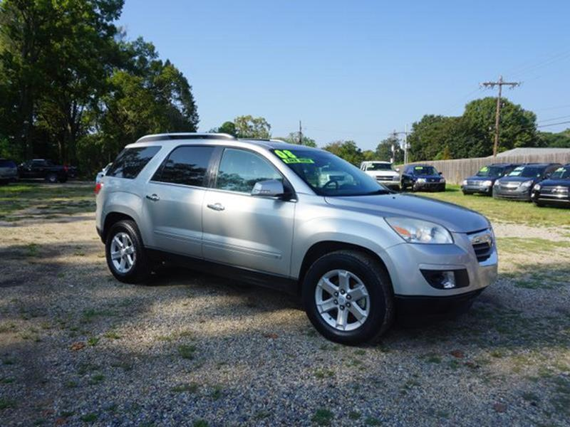 2008 SATURN OUTLOOK XR 4DR SUV silver pearl 4-wheel disc brakes4-wheel abstelematicsleather st