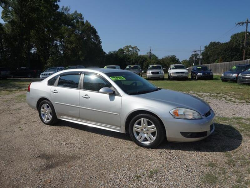 2011 CHEVROLET IMPALA LT FLEET 4DR SEDAN W2FL silver ice metallic driver air bagauxiliary audio