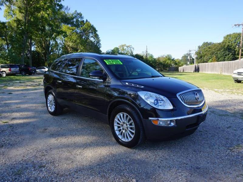 2012 BUICK ENCLAVE LEATHER 4DR CROSSOVER carbon black metallic auxiliary audio inputdriver air b