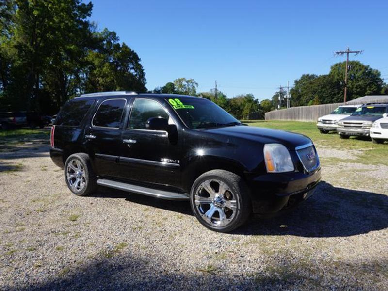 2008 GMC YUKON DENALI 4X2 4DR SUV onyx black driver air bagfront head air bagamfm stereocd ch