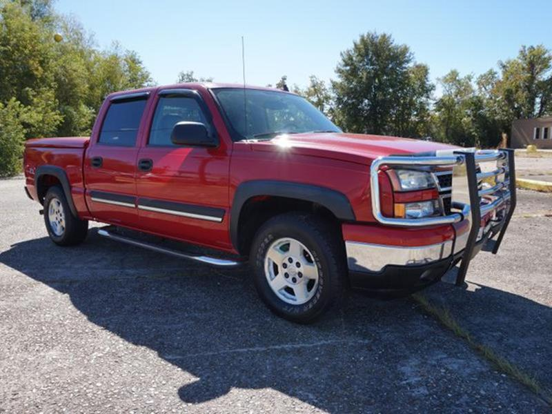 2006 CHEVROLET SILVERADO 1500 1500 Z71 4WD 1435WB victory red transmission overdrive switchauto