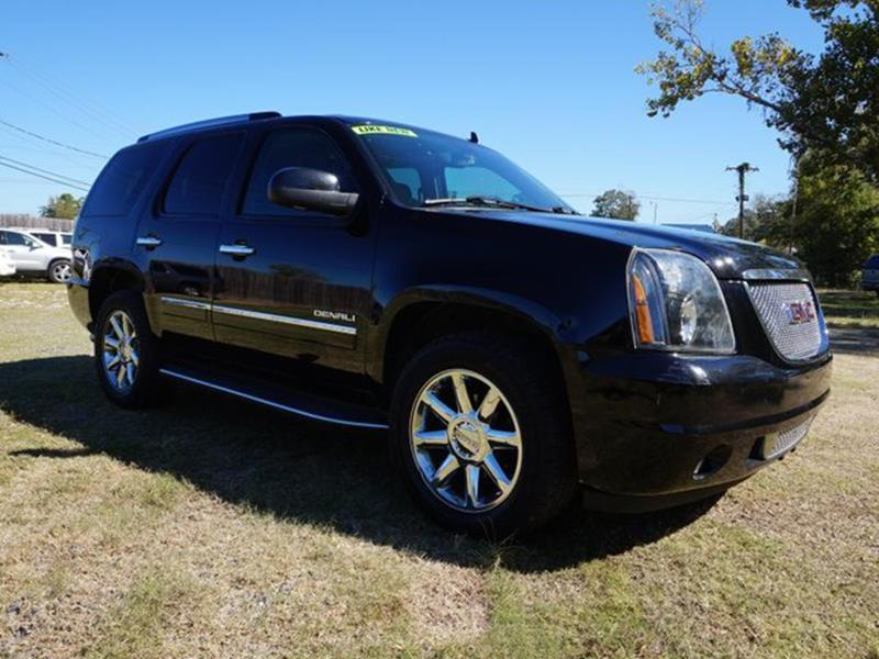 2013 GMC YUKON DENALI 4X2 4DR SUV onyx black entertainment systemfront side air bagfront head a